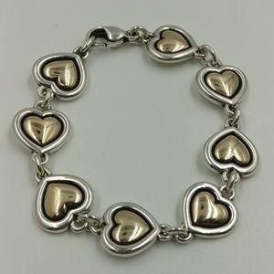 James Avery Heart Bracelet - Retired
